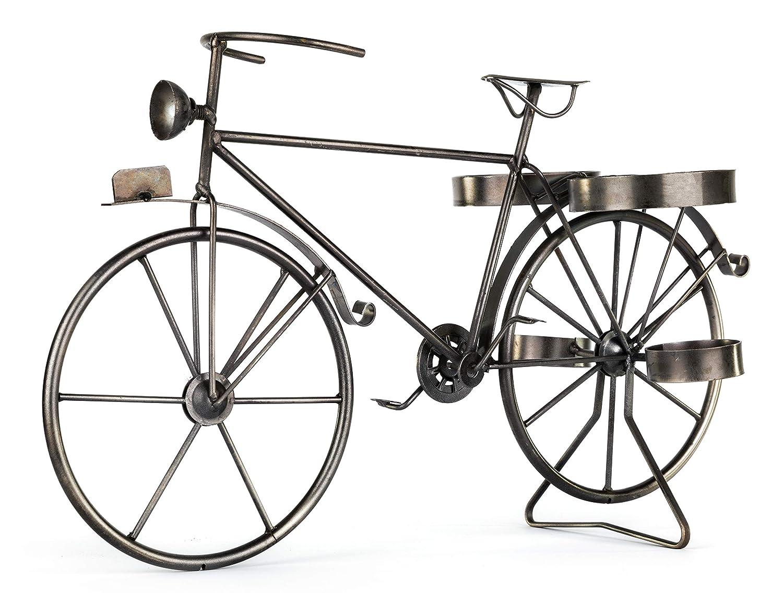 Geschenk f/ür Radfahrer Flaschenhalter Geschenkidee f/ür Fahrradfahrer Solinga Deko Weinflaschenhalter Fahrrad aus Metall