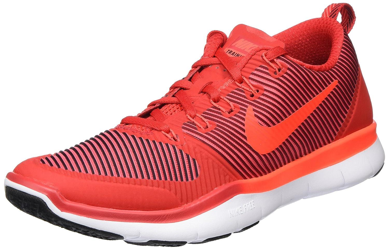NIKE Men's Free Train Versatility Running Shoes B014GDSXE6 12 D(M) US|Total Crimson/Gym Red/White/Black