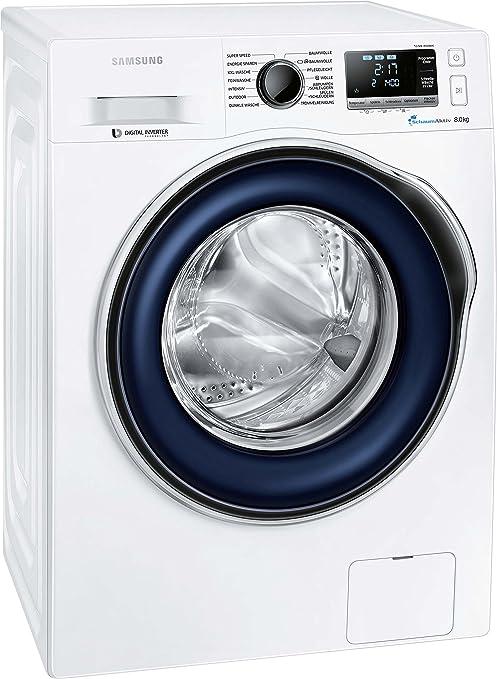 Samsung WW80J6400CW - Lavadora (Independiente, Color blanco ...