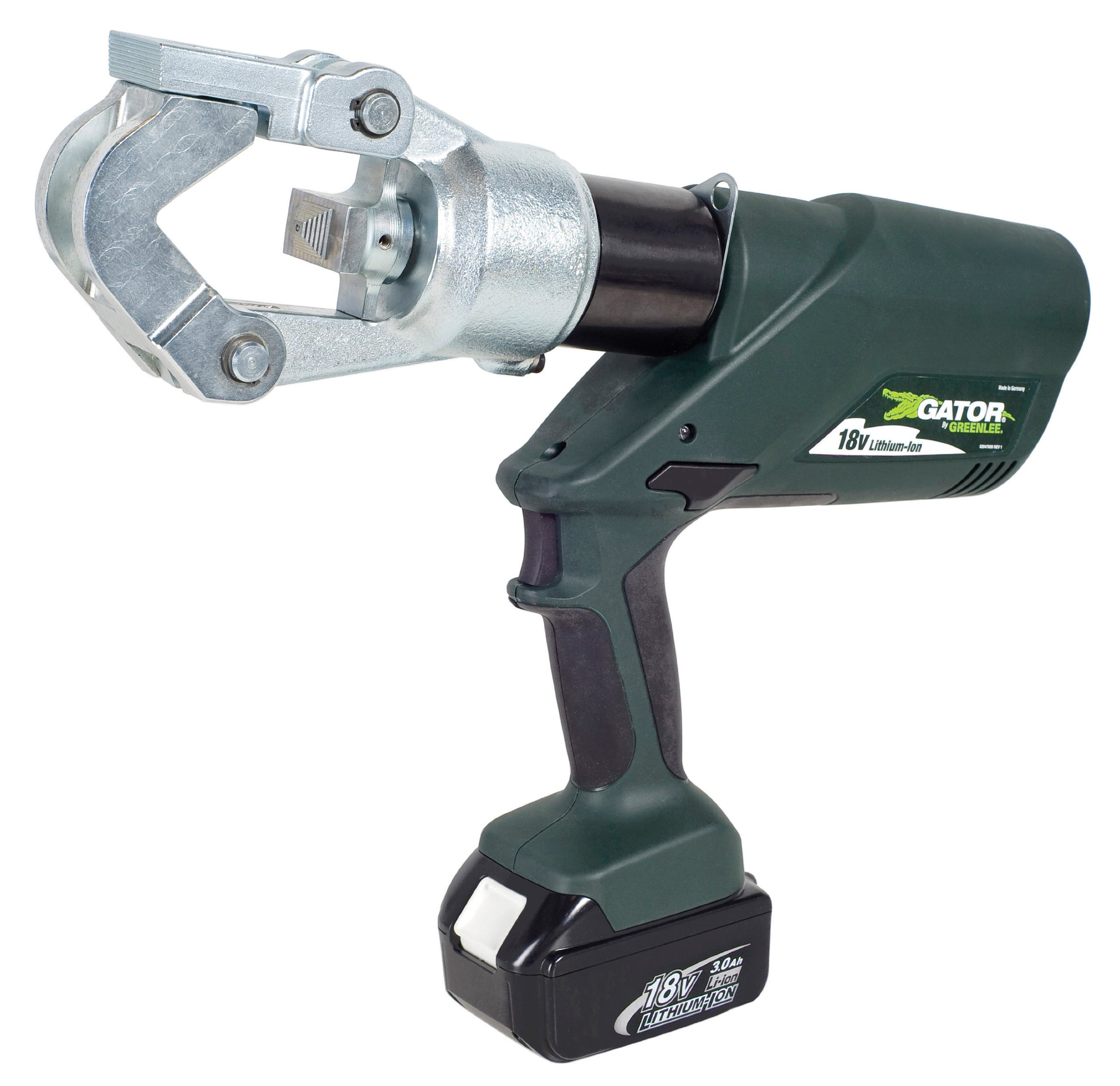 Greenlee EK12IDL11 Gator Battery-Powered 12 Ton Dieless Crimping Tool with 120-Volt Charger