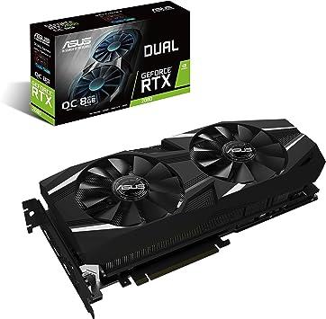 Amazon.com: ASUS GeForce RTX 2080 O8G Dual-fan OC Edition ...