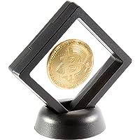 Bitcoin Coin Deluxe Collector Set with Display Case and Box   Bitcoin Collectors Coin   Commemorative Bitcoin…