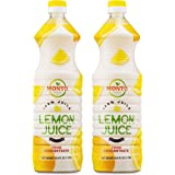 MontoFresh 100% Pure Lemon Juice Concentrate | 2 Pack of 1 Liter [32oz] Bottles| For Marinades, Smoothies, Cleaning…