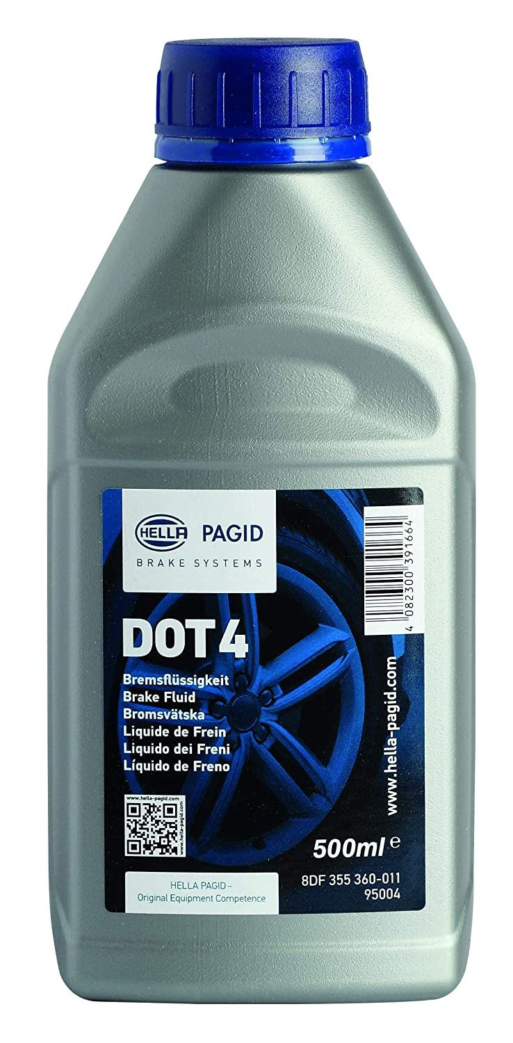 HELLA PAGID 8DF 355 360-011 Brake Fluid, DOT4, Bottle 0,5L Hella KGaA Hueck & Co. 355360011
