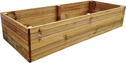 OWD Entreprises Ltd - Cajón para plantar huertos (madera tratada a ...