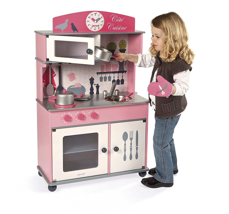 Janod J06565 Cote Cuisine Big Kitchen Wooden Toy Amazon Co Uk