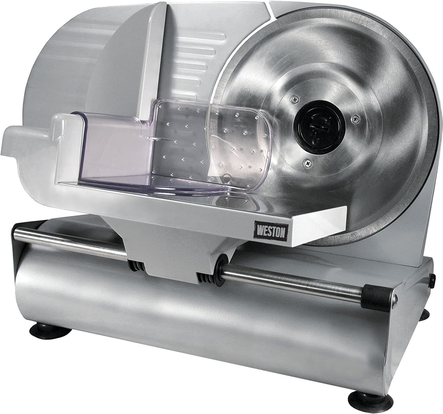 "Weston 61-0901-W Heavy Duty Meat and Food Slicer, 9"", Stainless Steel"