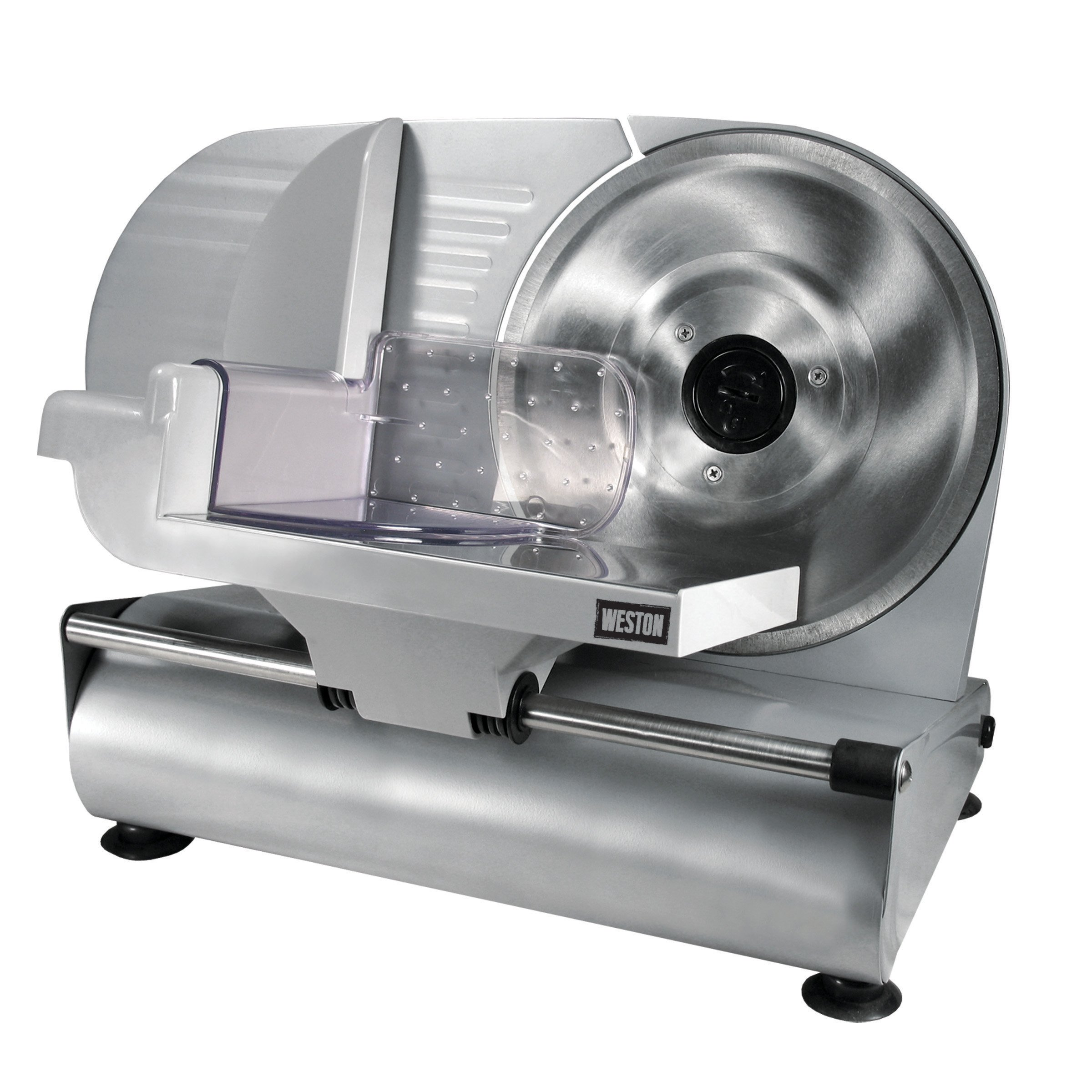 Weston 61-0901-W Heavy Duty Meat and Food Slicer, 9'', Stainless Steel by Weston