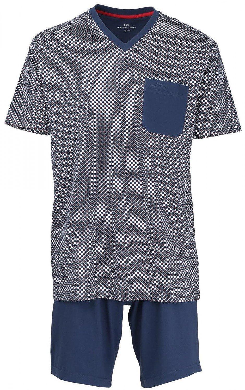 Götzburg Herren Schlafanzug Pyjama B0792GTRFY Schlafanzüge Stilvoll und charmant