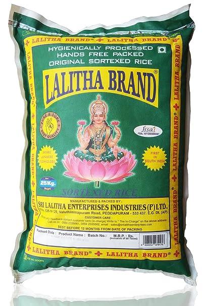 LALITHA BRAND No1 Rice 25kg x 2Bags