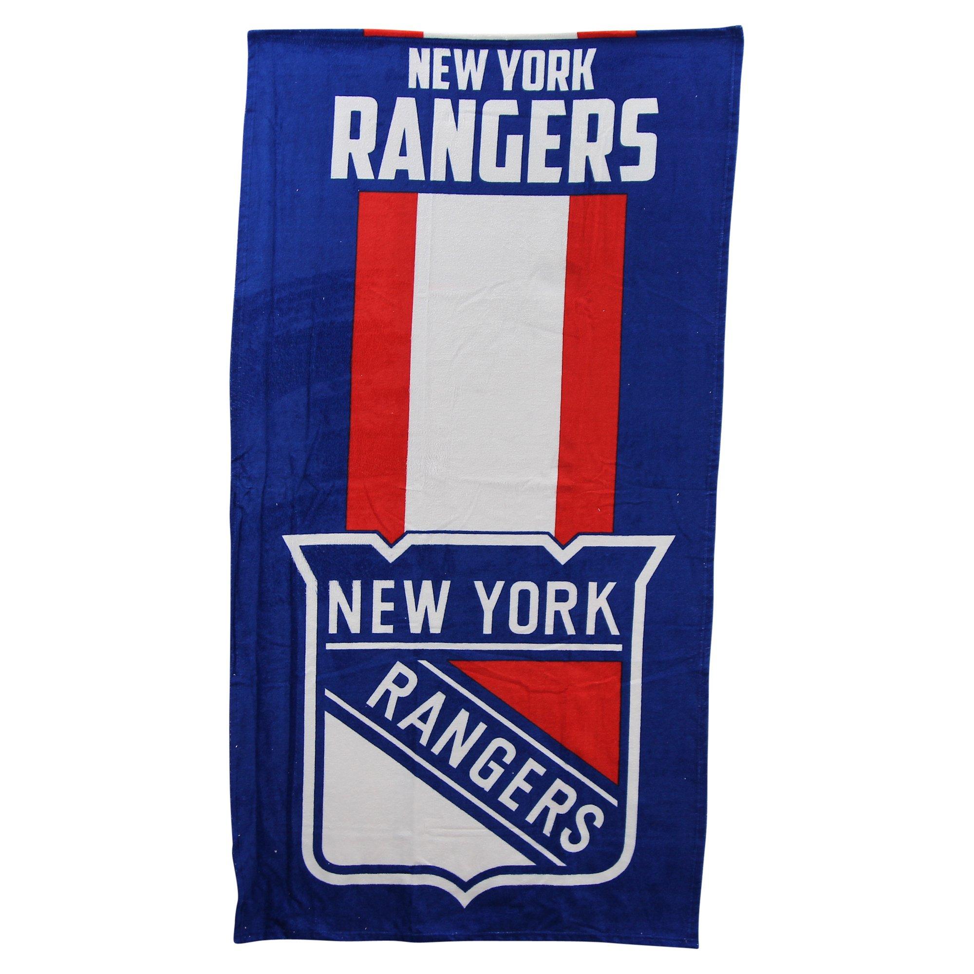 The Northwest Company NHL Zone Read Beach Towel 30'' x 60'' (New York Rangers)