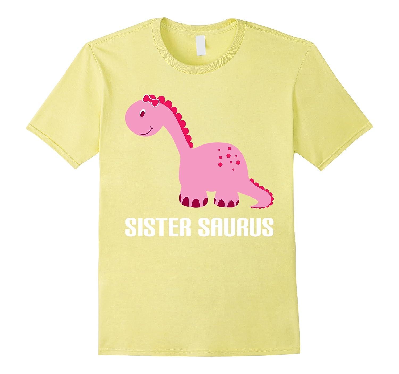 SisterSaurus Family Cool T-shirt-RT