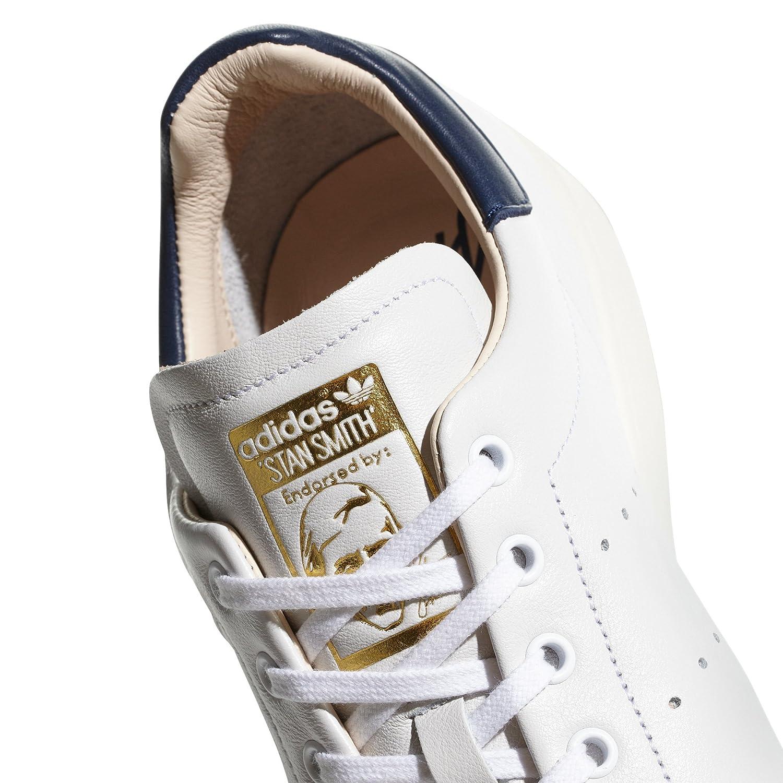 brand new 0c908 50c0b adidas Originals Men's Stan Smith Recon CQ3033 Flat White Size: 10.5 UK:  Amazon.co.uk: Shoes & Bags