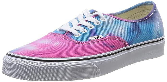 Vans Authentic Unisex-Erwachsene Bunt Rosa Blau (Pink/Blue)