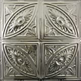 Tin Ceiling Tiles #124, Unfinished Nail-up, Authentic Tin/metal Ceiling Tile