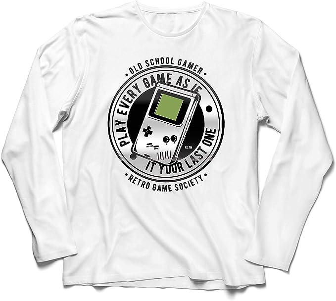 lepni.me Camiseta de Manga Larga para Hombre Videojugador de ...