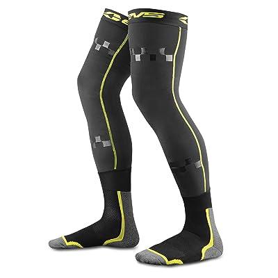EVS Sports FSN-HIVIZ-L/XL Unisex-Adult Fusion Socks/Sleeve Combo (Black/Hi-Viz, Large/X-Large): Automotive