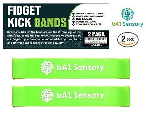 Groovy Amazon Com Fidget Kick Bouncy Chair Bands 2 Pack Short Links Chair Design For Home Short Linksinfo