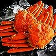 天然 ズワイガニ 姿 大サイズ 蟹味噌たっぷりの厳選された ずわい蟹 約600g×2尾