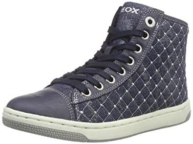 ad38e8e537 Amazon.com   Geox J Creamy B Girls Hi Top Sneakers/Shoes   Sneakers