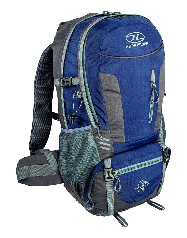 cdab484f14a Highlander Hiker Rucksack _ Premium 30L and 40L Outdoor Backpack _ Unisex  Bag for Men & Women _ Ideal for Hillwalking, Hiking, Long Day Trips:  Amazon.co.uk: ...