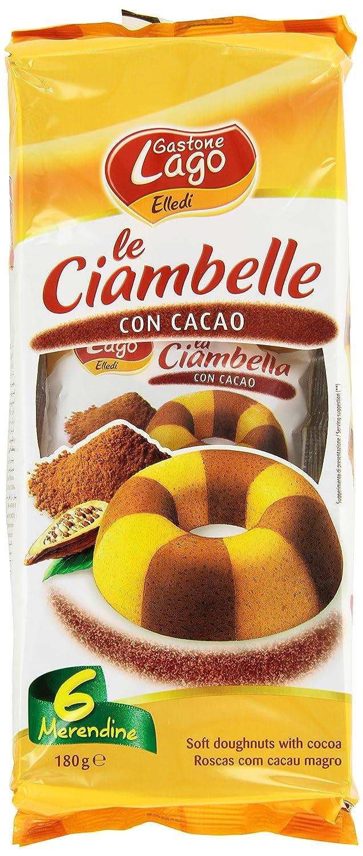 Gastone Lago - Le rosquillas, con Cacao, lote de 6 x 30 g ...