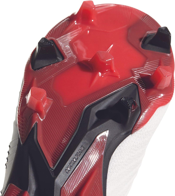 adidas Predator 18.1 FG, Botas de fútbol para Hombre Blanco Ftwbla Negbas Correa 000