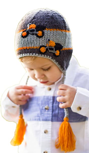 ebcd305bbb7 Amazon.com  Huggalugs Baby and Toddler Childrens Motorcycle Beanie ...