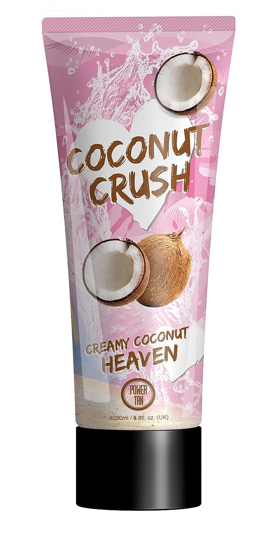 Power Tan Coconut Crush Sunbed Tanning Lotion Cream Accelerator 250 ml 0220