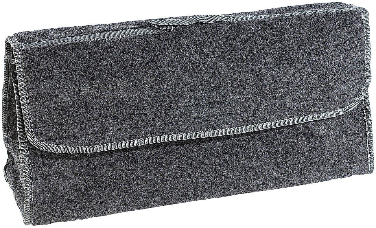 Kofferraum Organizer Klett Anti-Rutsch-Kofferraumtasche mit Klettbefestigung Large Lescars Kofferraumtasche Klett