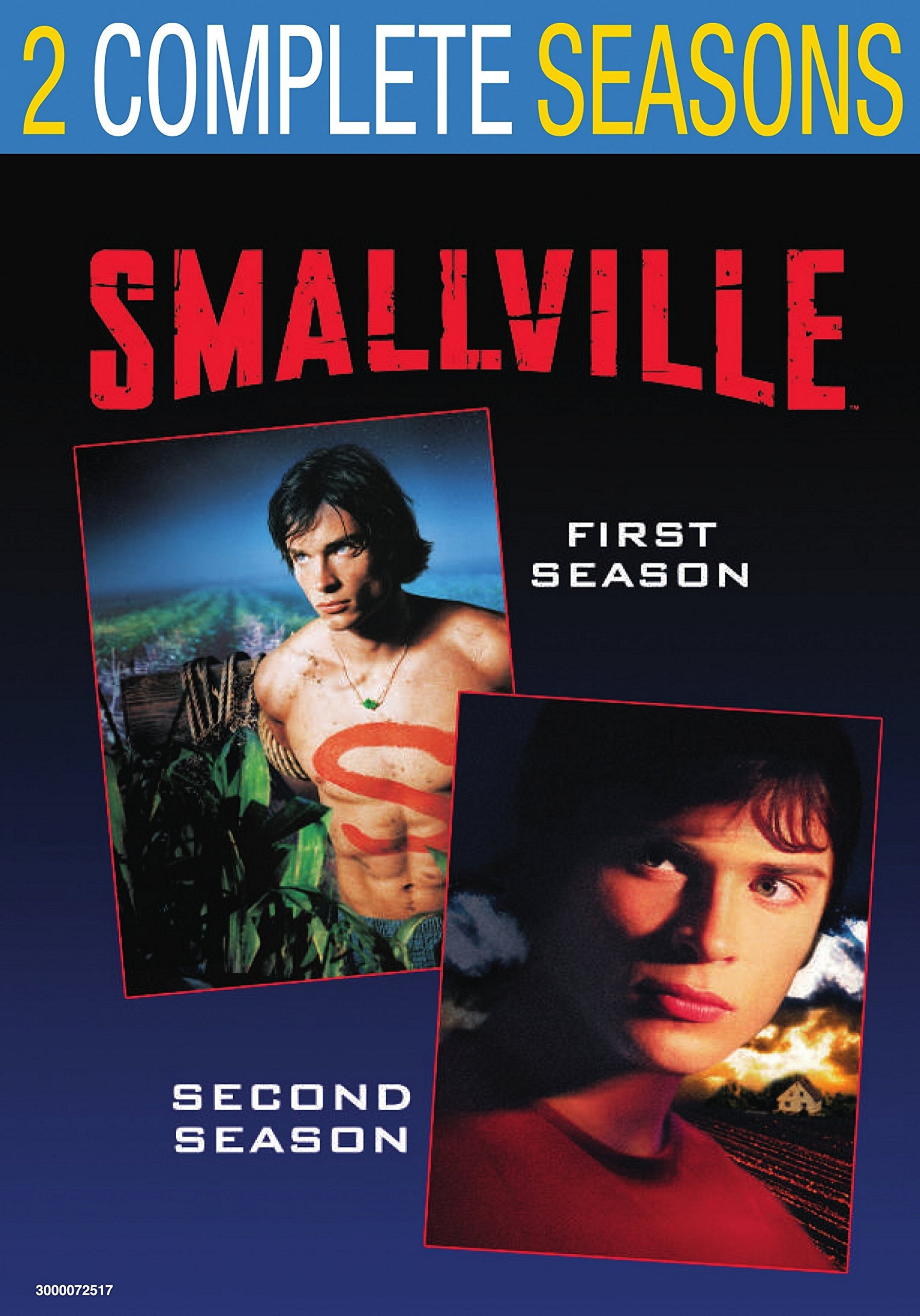 DVD : Smallville: Season 1-2 (Shrink Wrapped, 2 Pack, Back to Back Packaging, Repackaged, 2 Disc)