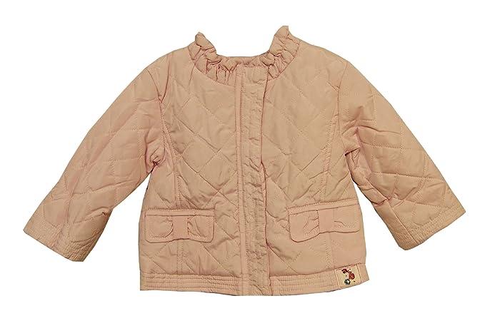 Bañador para bebé de color rosa con interior de forro polar chaqueta de hípica para niños