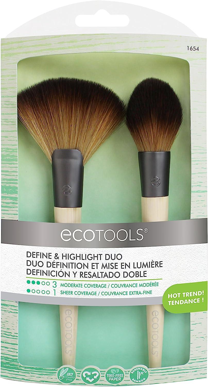 Ecotools Brochas para Definir e Iluminar El Rostro, 21 g
