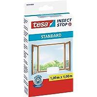 tesa Insect Stop Standard Vliegenhor voor ramen - Insectenhor, raamhor - Met klittenband - Makkelijk op maat snijden…