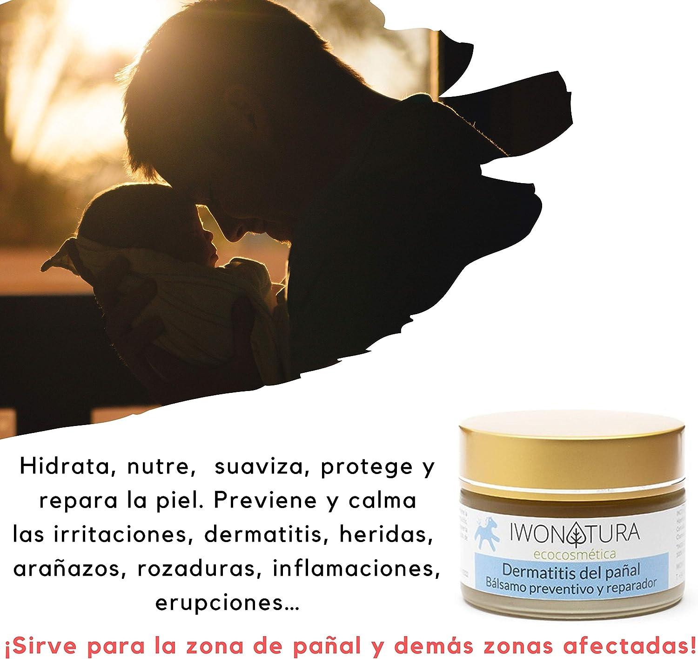 Iwonatura Crema Culito Bebé Bio - Crema pañal con caléndula y cera de abeja natural, 1 unidad (1 x 30 ml): Amazon.es: Bebé