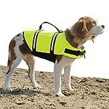 Paws Aboard 1500 Designer Doggy Life Jacket, Neon