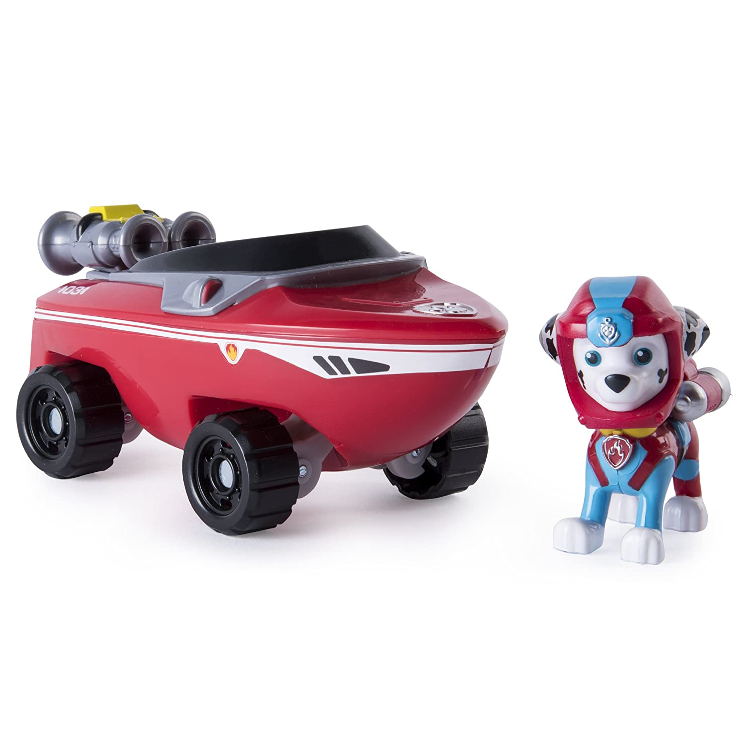 Paw Patrol 20085000-6040086 Basic Vehicle Marshall SeaPatrol Spinmaster -- Import Yantian