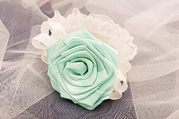 Handmade Blumen Armband Trauzeugin Accessoire Fur Hochzeit Designer