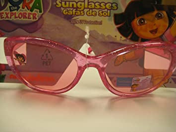 Amazon.com: Childrens Dora the Explorer Pink Sunglasses ...