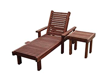 Best Redwood Single Sun Chaise Lounge  sc 1 st  Amazon.com : redwood chaise lounge - Sectionals, Sofas & Couches