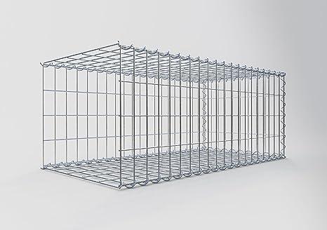 mesh wire 5 x 10 cm Stone Basket 100 x 50 x 40 cm Gabions GABION