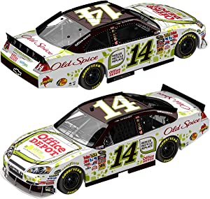 Action Racing Collectibles Tony Stewart '10 Office Depot Go Green #14 Impala, 1:24