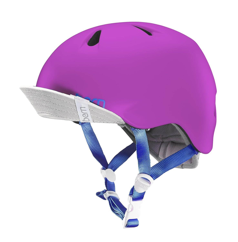 贅沢品 bern Pink NINA S/M KIDS バーンニーナ NEWカラー Hot/子供用マルチスポーツヘルメットスポーツ用品 B01FJ23X48 S/M|Satin Hot Pink Satin Hot Pink S/M, 温泉郡:6f495e40 --- a0267596.xsph.ru