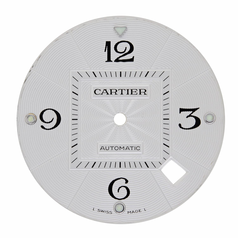 Cartier Pascha Seatimer mx000lgh 29 mm Silber Zifferblatt fÜr w31031h3-w3103155 Modelle