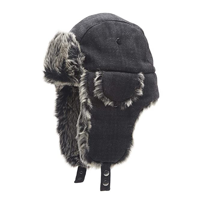 d4d2856d2edccb Dockers Mens Winter Warm Trapper Hat Cold Weather Hat: Amazon.ca: Clothing  & Accessories