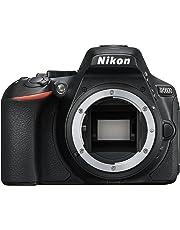 Nikon D5600 (8,1 cm (3,2 Zoll), 24,2 Megapixel) Gehäuse schwarz
