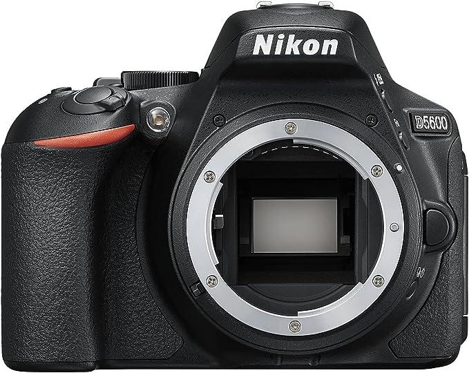 Nikon D5600 - Cámara réflex de 24.2 MP sin objectivo (pantalla ...