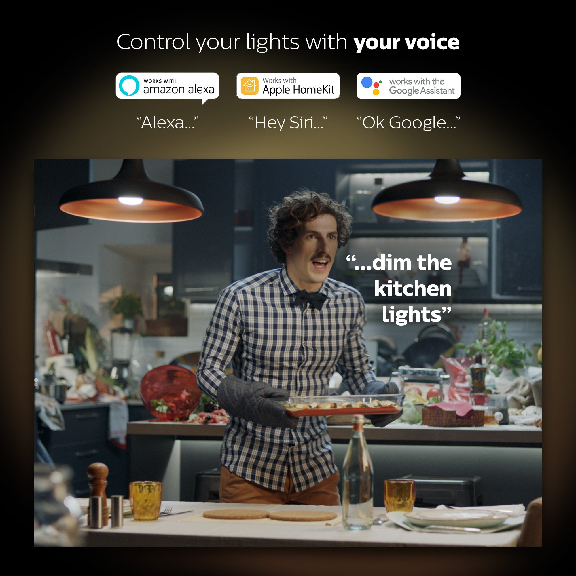 Philips Hue Smart Dimming Kit (Installation-Free  Exclusive for Philips Hue Lights  Works with Alexa  Apple HomeKit  and Google Assistant) by Philips Hue (Image #9)