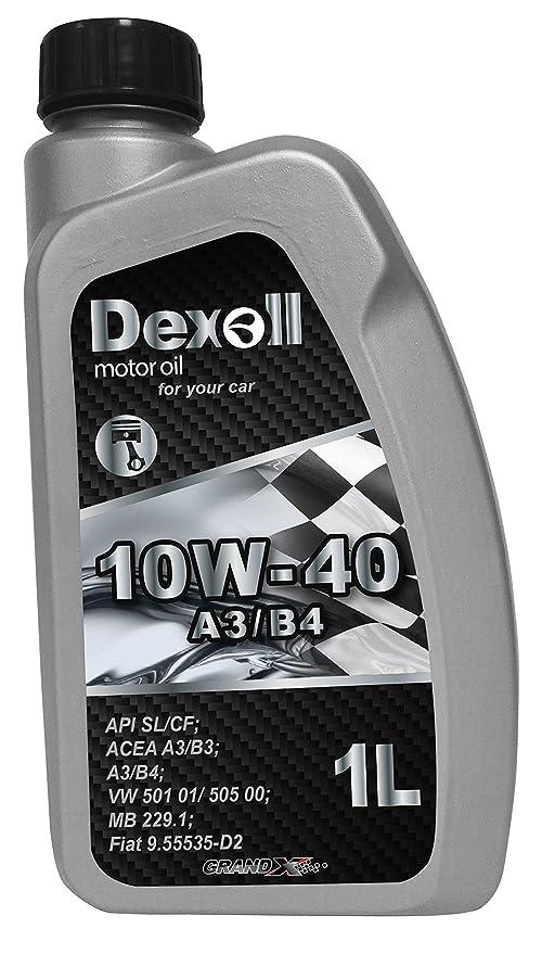 Dexoll Aceite de Motor 10W-40 para Gasolina y Motor diésel, 1 litro