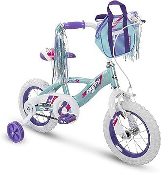 Huffy Glimmer - Bicicleta para niñas de 12,14,16,18 Pulgadas con ...
